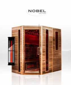 Nobel sauna met infrarood